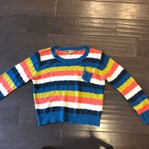 Sweaters - Colorful knit sweater